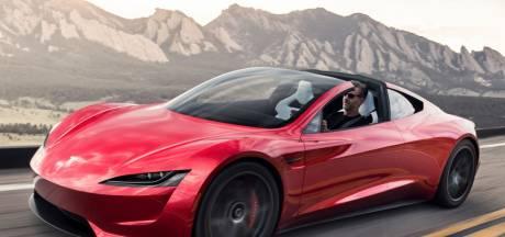 'Tesla Roadster sprint binnen 1,5 seconden naar 100 km/h door raketmotoren'