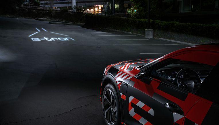 Audi e-tron lichttechnologie.