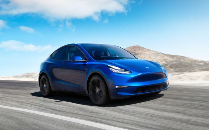 De Tesla Model Y is te bestellen in Nederland.