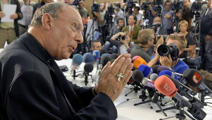 De Vidst vindt dat aartsbisschop Léonard best eens mag vloeken van woede.