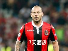 L'Équipe over Vitesse-tegenstander  OGC Nice: 'Probleem met te zware Sneijder'