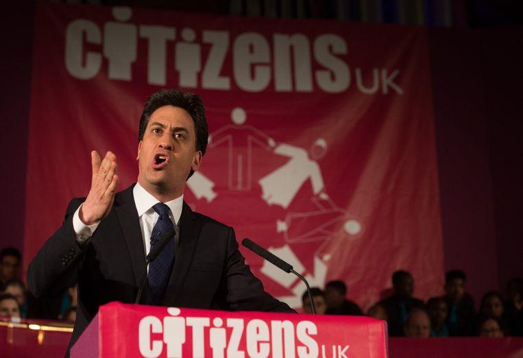 Ed miliband. Beeld AFP