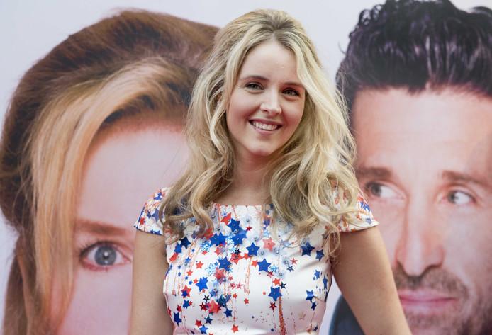 Liza Sips op de rode loper tijdens de Nederlandse premiere van Bridget Jones's Baby in Pathe Tuschinski Amsterdam