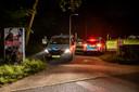 De politie hield vier verdachten aan.