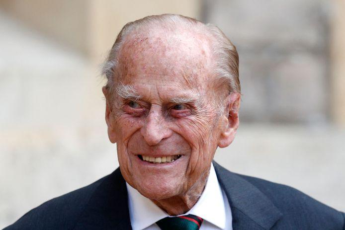 De Britse prins Philip is opgenomen in het ziekenhuis