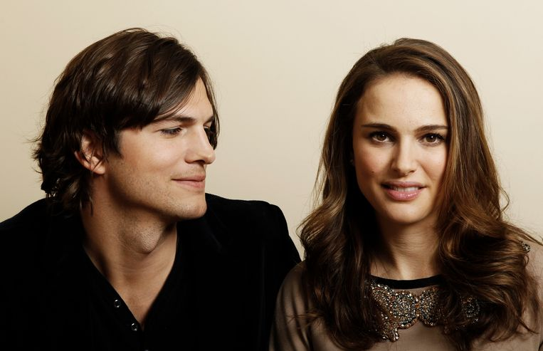 Ashton Kutcher en Natalie Portman. Beeld ASSOCIATED PRESS