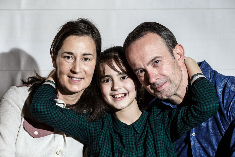 Cloë (10) heeft een zeldzame hersenstamtumor. In België wordt de variant jaarlijks vastgesteld bij drie à vier kinderen. Beeld Bob Van Mol