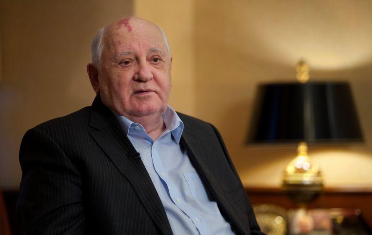Mikhail Gorbatsjov. Beeld AP