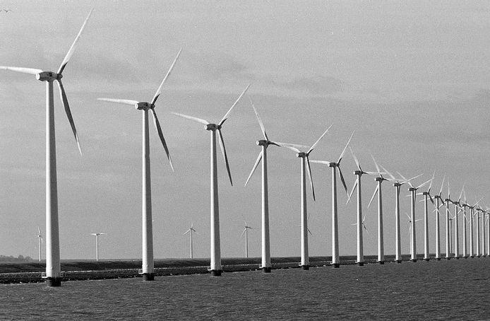 Windmolens bij Lelystad. (foto ter illustratie)