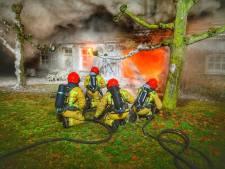 Varkensboer redt man uit brandend huis: 'De rook was verstikkend'