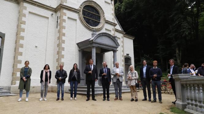 Gerestaureerde Sint-Gertrudiskapel in domein van Gaasbeek officieel ingehuldigd