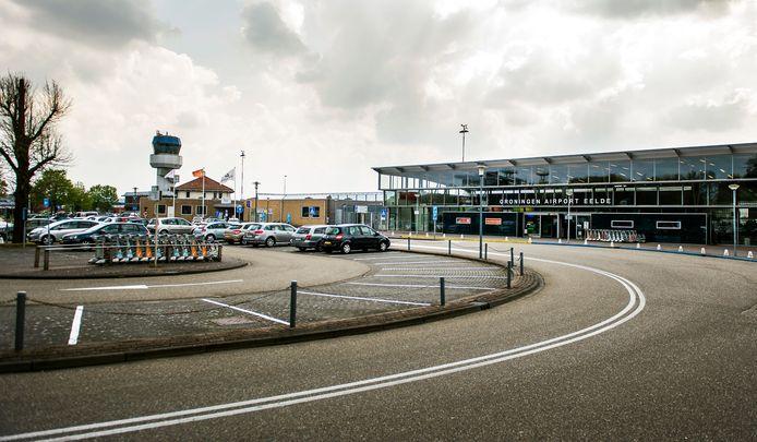 Eelde Airport, vlakbij Groningen, foto ter illustratie