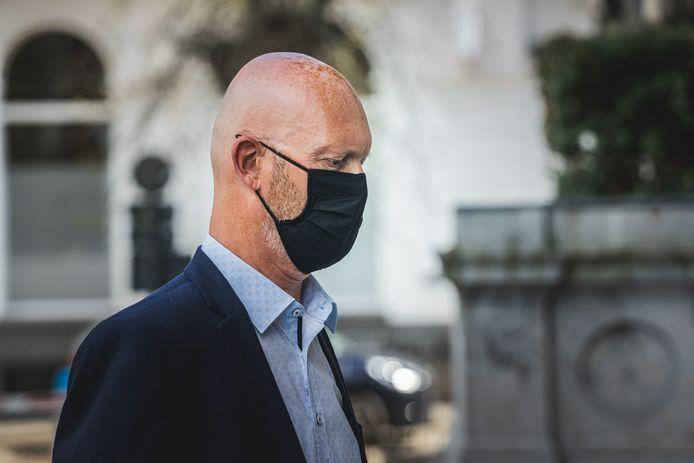 Johan Sabbe aan het hof van beroep.