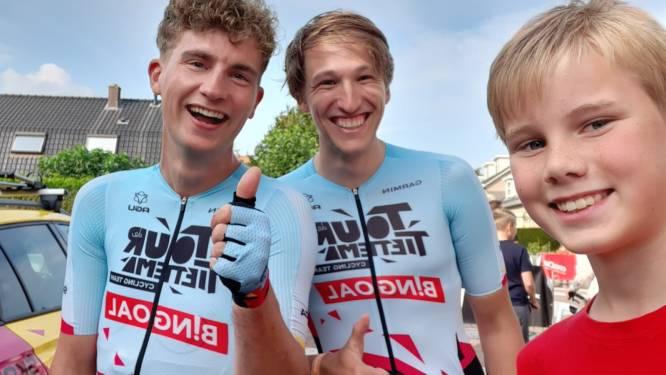 YouTube-helden Tour de Tietema zijn de sterren van Wielerronde Scherpenzeel: 'Wow, gewoon een selfie'