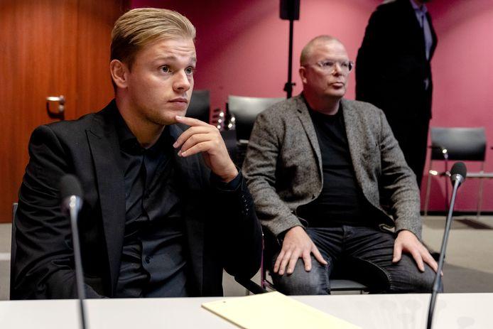 Dennis Schouten en Jan Roos.