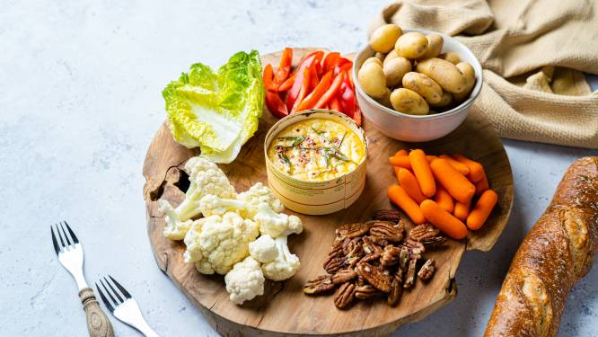 Wat Eten We Vandaag: Camembert kaasfondue