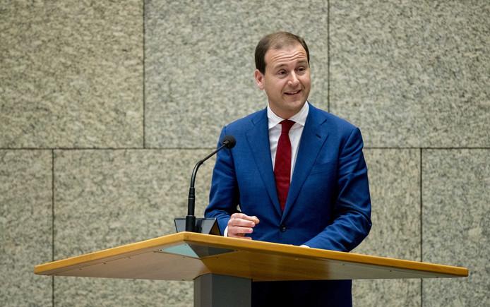 Partijleider Lodewijk Asscher van de PvdA.