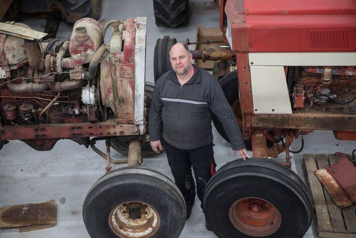 Frank Verheijen handelt in amerikaanse tractors