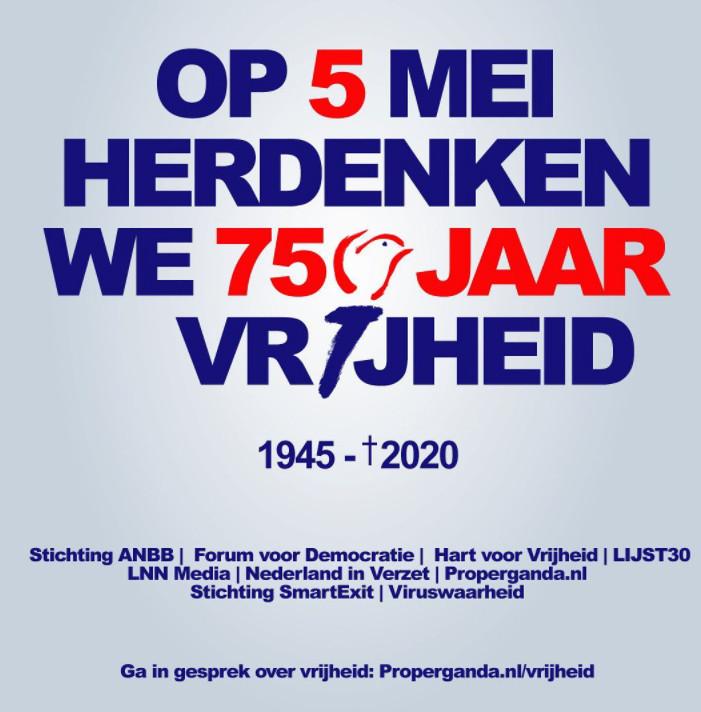 Het omstreden affiche van FvD.