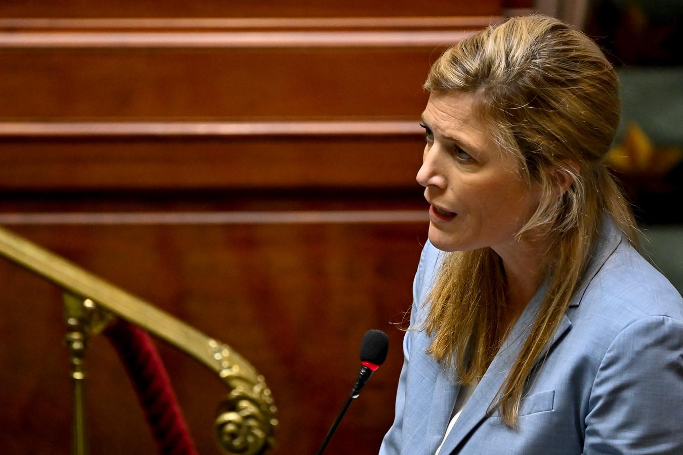 Annelies Verlinden, la ministre de l'Intérieur.