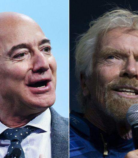 Richard Branson va tenter de faire son voyage dans l'espace 9 jours avant celui de Jeff Bezos