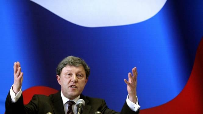 L'opposant Iavlinski disqualifié de la présidentielle