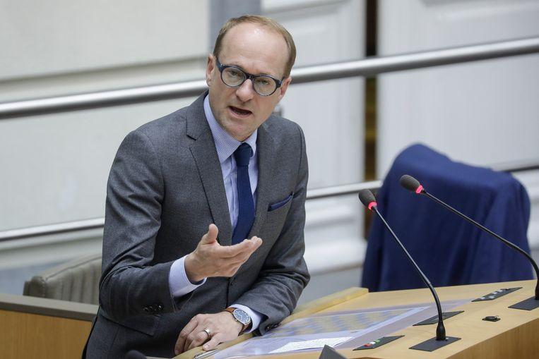 Vlaams onderwijsminister Ben Weyts (N-VA). Beeld BELGA