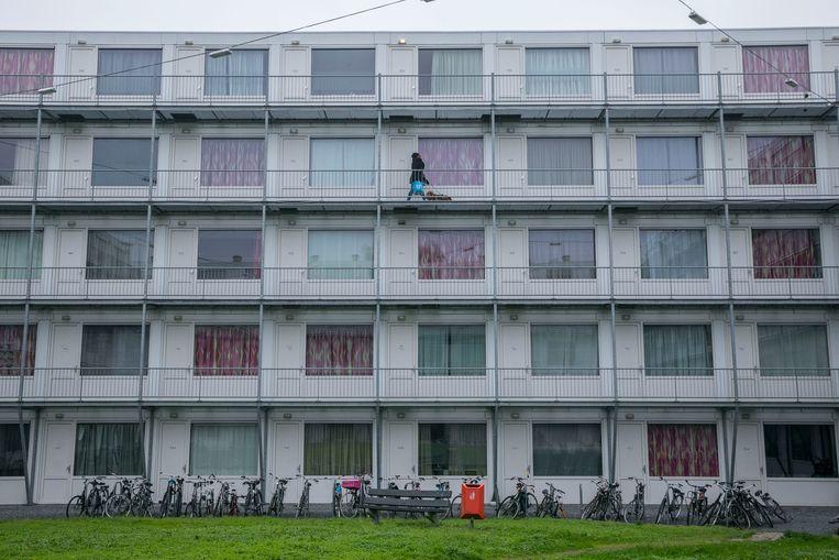 Studentenwoningen in Amsterdam. Beeld Amaury Miller