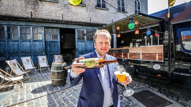 """Brouwerij van Brugse Zot palmt extra terras in: """"Dit wordt onze 'zotte' biertuin"""""""
