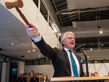 Apeldoorns burgemeester Berends druk met Serious Request