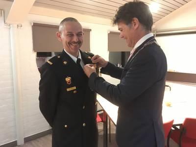 Lintje voor Prinsenbeekse brandweerman