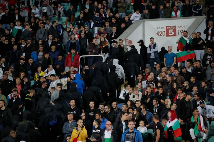 Bulgaarse fans.