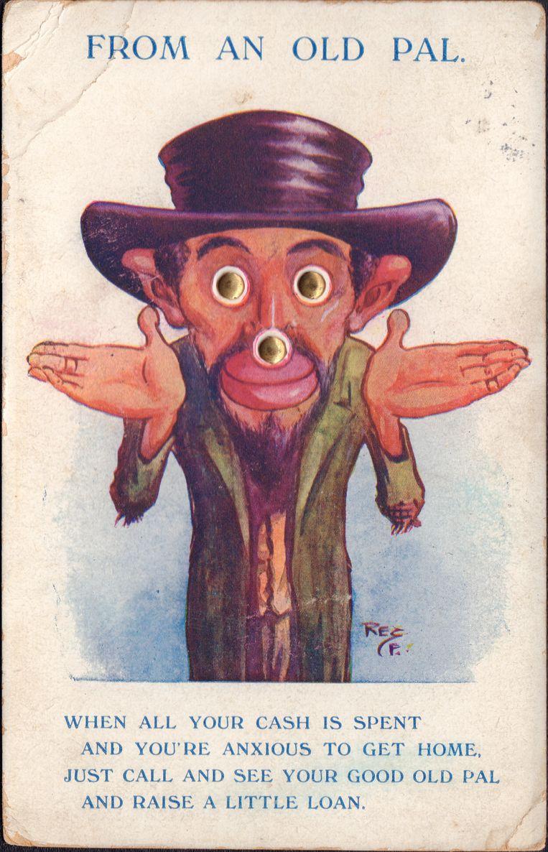 Een antisemitische prent typerend voor de 19de en 20ste eeuw, uit de collectie van Arthur Langerman en Kazerne Dossin. Beeld RV Kazerne Dossin/ collectie Arthur Langerman