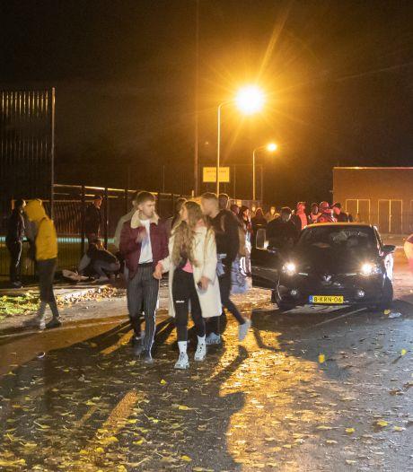 Verbijstering bij politie over groot dancefeest met dj en lachgas bij Hilversum: 'Waar zijn jullie mee bezig?'