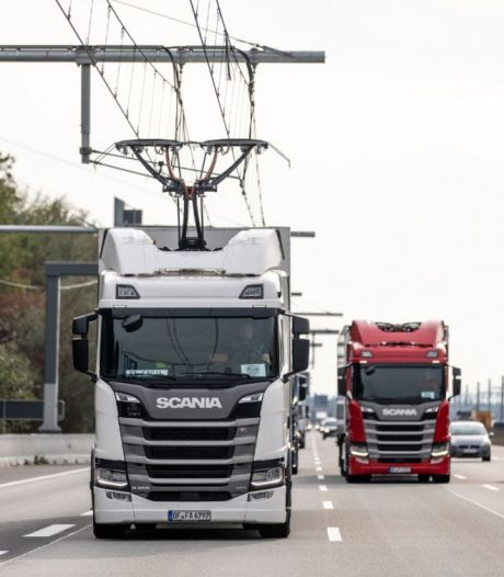 'Britten willen trolley-trucks op meeste snelwegen'