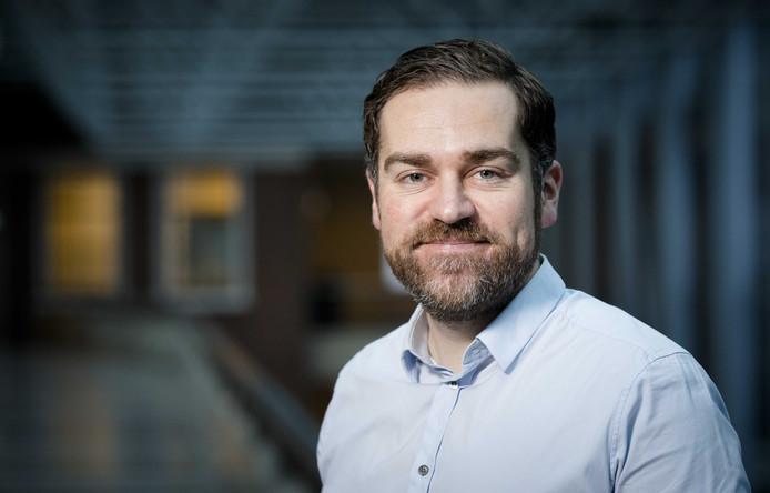 2017-01-24 15:45:06 DEN HAAG - Portret van Klaas Dijkhoff, staatssecretaris van Veiligheid en Justitie. ANP BART MAAT