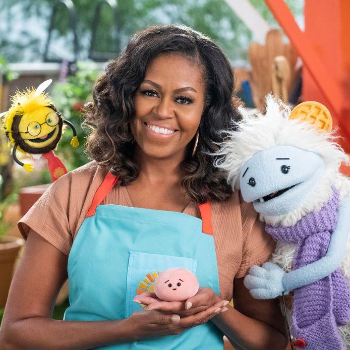 Michelle Obama lance une émission de cuisine pour enfants sur Netflix.