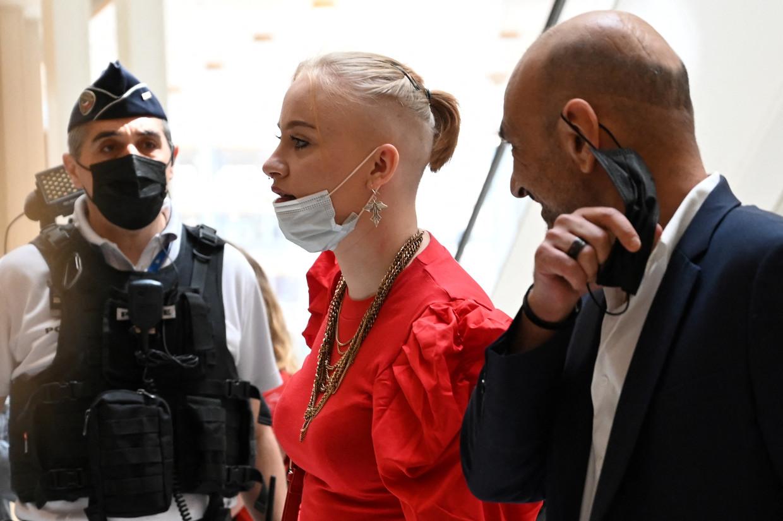 Mila in de rechtbank Beeld AFP