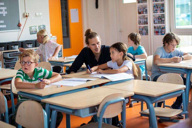 Het onderwijs is een van de sectoren waar de gemeente Utrecht mensen naar wil omscholen. Beeld Hollandse Hoogte / Patricia Rehe