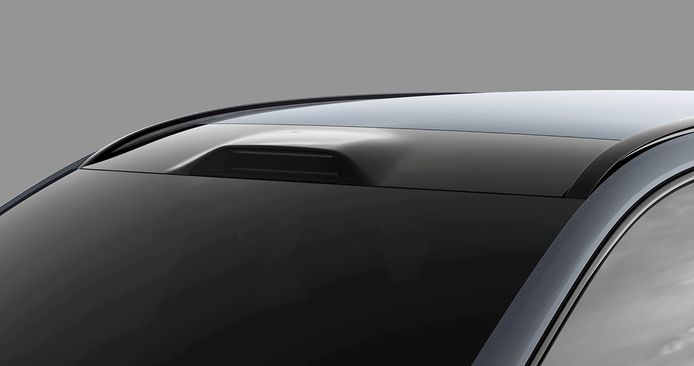 For example, the lidar, the laser radar, will soon be built into the roof of the new Volvo XC90.