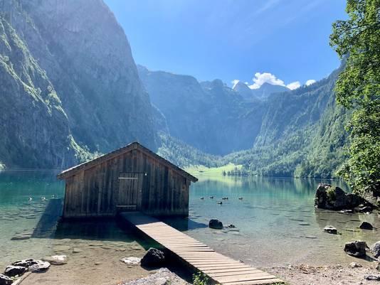 Deze plek bereik je met de boot vanaf Schönau am Königssee. Obersee is net als de Königsee een bergmeer in een idyllische omgeving.