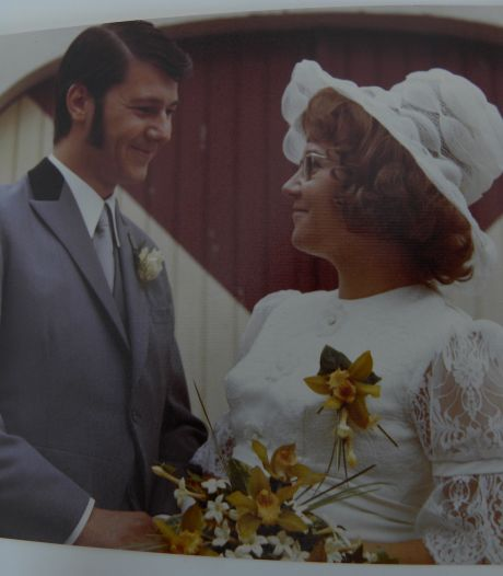 Gouden paar Van Rooij: 'Voordeel van jong trouwen, we kunnen mee met de kleinkinderen'