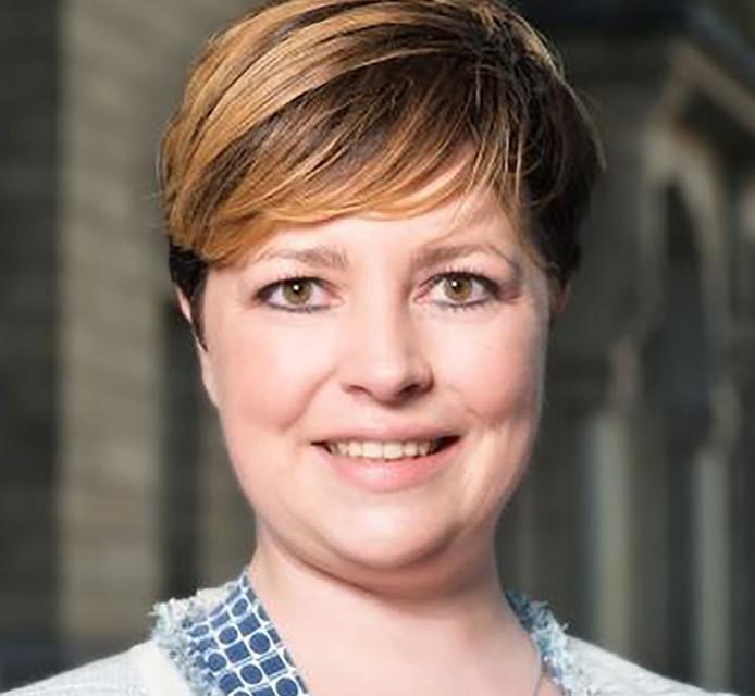 CDA-fractievoorzitter Christine Eskes.