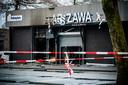 Schade nadat er een explosief is afgegaan bij een Poolse supermarkt aan het Paletplein in Tilburg.