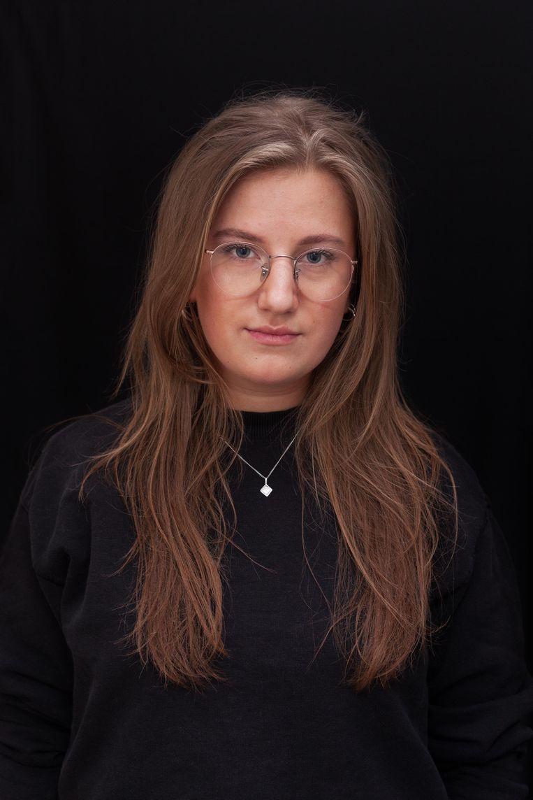 Eva Dekker (22), student criminologie en rechten. Beeld Nina Schollaardt