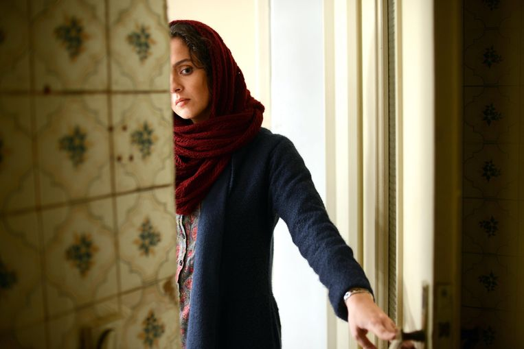 Taraneh Alidoosti in de film 'Forushande' (The Salesman) Beeld EPA