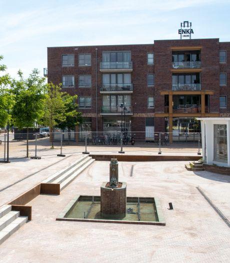 Bankje, fonteintje: Enka-monumenten zijn weer in volle glorie hersteld