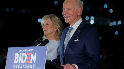 Biden roept na winst op 'Big Tuesday' op tot eenheid en reikt aanhangers Bernie Sanders de hand