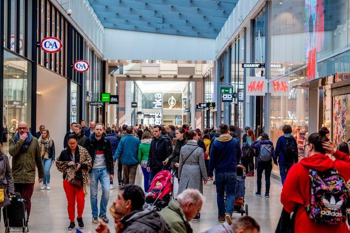 Winkelcentrum Hoog Catharijne.