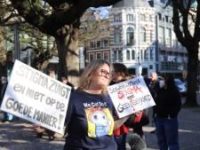 Sekswerkers protesteren in Den Haag: 'Mensen lopen gevaar'
